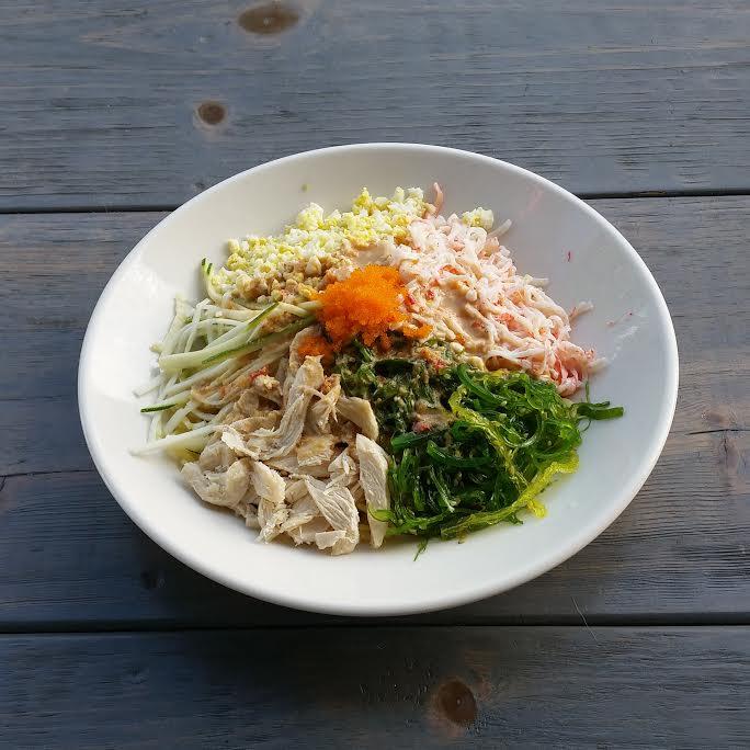 COLD Sesame Ramen w/Chicken